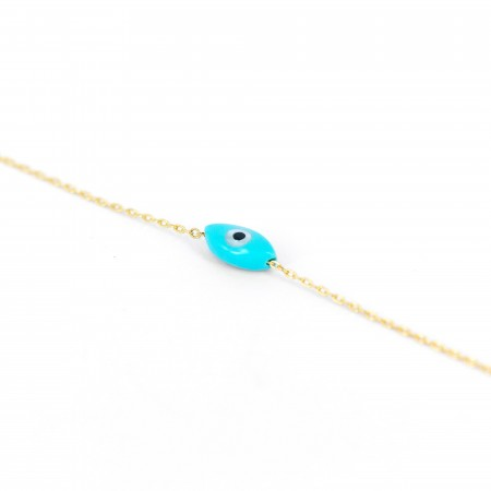 Oval Mati - Evil Eye Protection Bracelet