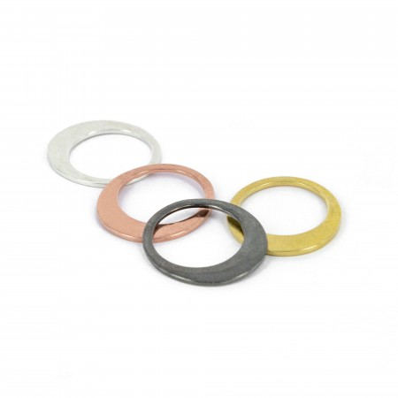 Assymetric Obal Ring