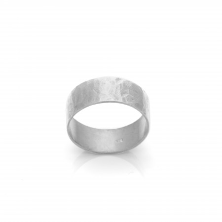 Ring Classic - Hammered Band 7mm
