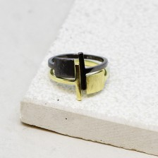 Square Open Ring
