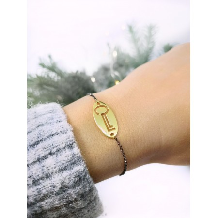 2021 Lucky Charm -Oval Key - Chain Bracelet