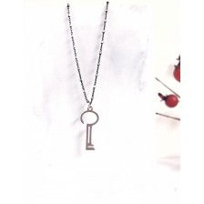 2021 Lucky Charm - Key Necklace -Tiny Cubes Chain