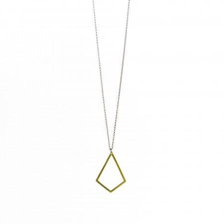 Diamond Shape Short Necklace