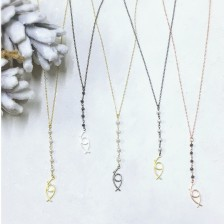 2019 Lucky Charm Long Necklace