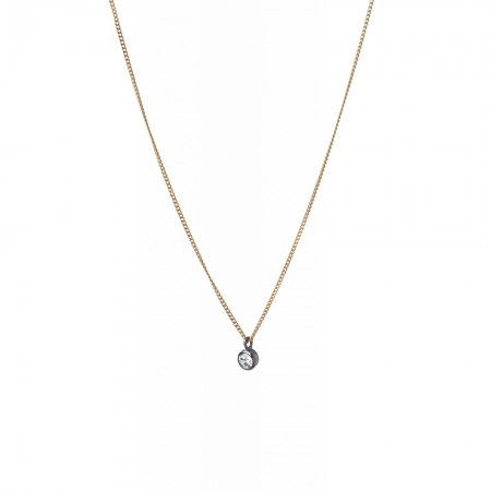 Tiny Zirconia Necklace