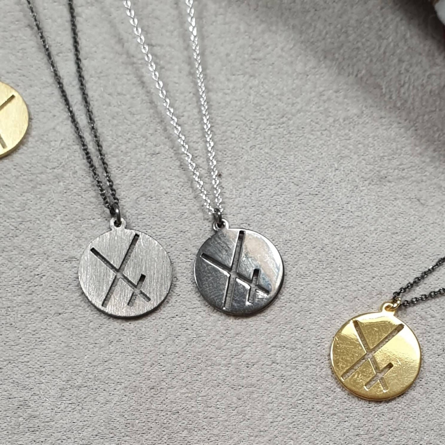 2020 Lucky Charm - XX Pendant Necklace